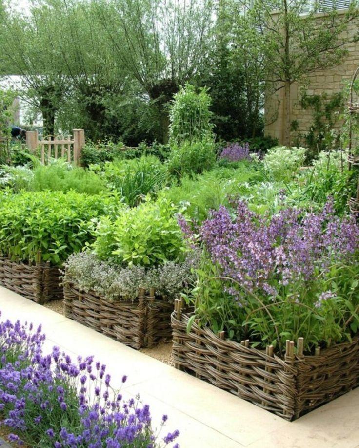 αστικός κήπος λαχανικών ιδέες3