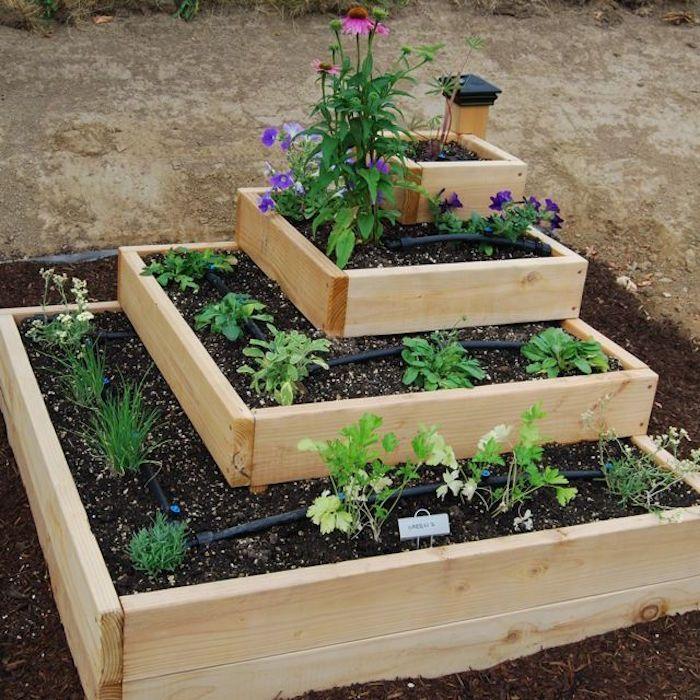 αστικός κήπος λαχανικών ιδέες4