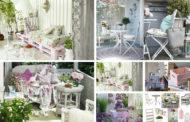 Διακοσμήστε το μπαλκόνι σε Shabby Chicστυλ - δημιουργήστε περισσότερο ρομαντισμό στην καθημερινή σας ζωή