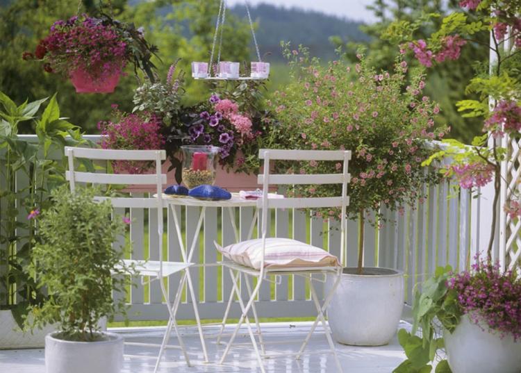 μπαλκόνι σε Shabby Chicστυλ24