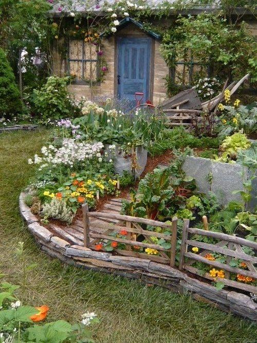 σχεδιάστε ένα μοναδικό στυλ κήπου9