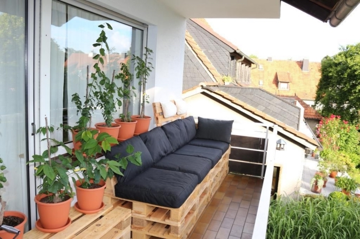 DIY έπιπλα εξωτερικού χώρου από παλέτες71