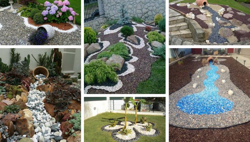 Σχεδιασμός κήπου που κλέβει τις εντυπώσεις με διακοσμητική πέτρα ψηφιδωτά