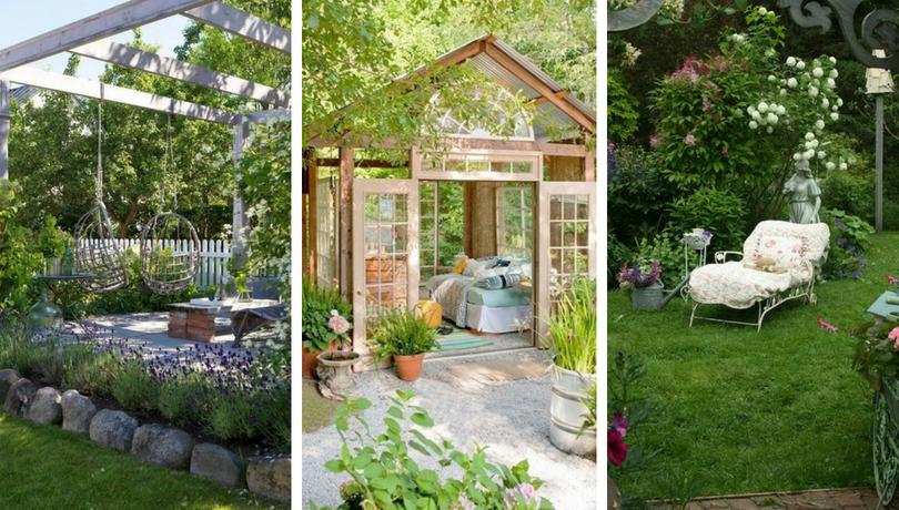 Χαλαρωτικοί χώροι στον κήπο που θα σας κάνουν να ονειρεύεστε διακοπές
