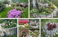 Κήπος με πέτρες: ιδέες για τους πιο χαλαρούς τεμπέληδες κηπουρούς