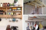 DIY ιδέες για να φτιάξετε την κουζίνα σας εκπληκτική με παλέτες