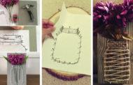 Η τέχνη της μετατροπής νήματος σε υπέροχα DIY διακοσμητικά αντικείμενα