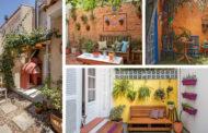 Γοητευτικές αυλές γεμάτες φυτά και χρώμα που θα σας μαγέψουν