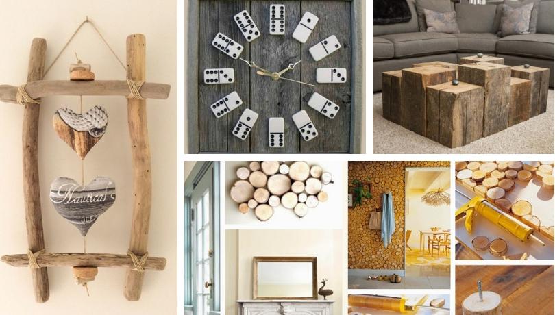 Εξαιρετικές DIY διακοσμήσεις ξύλου που μπορείτε να κάνετε δωρεάν