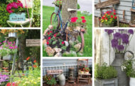 19 DIY vintage διακοσμήσεις για έναν καλαίσθητο κήπο