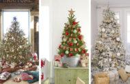 Χριστουγεννιάτικα δέντρα διακοσμημένα σε ρουστίκ στυλ 20 πρωτότυπες ιδέες
