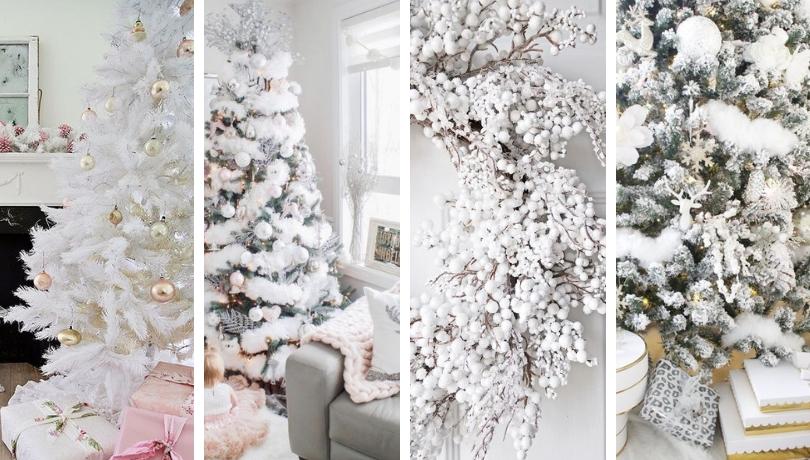 35 Κατάλευκες Χριστουγεννιάτικες ιδέες διακόσμησης σπιτιού - η μαγεία του χιονιού στη Χριστουγεννιάτικη διακόσμηση