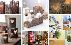 60 Εξυπνες DIY ιδέες με απίθανα φαναράκια και κηροπήγια για τα Χριστούγεννα