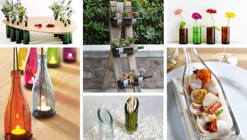 Καταπληκτικοί DIY τρόποι για να ανακυκλώσετε δημιουργικά παλιά μπουκάλια κρασιού