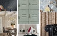 Δημιουργήστε στυλ φυσικού υλικού στο χώρο σας με ταπετσαρίες τοίχου: από ξύλο και πέτρα, έως πλακάκι και ύφασμα