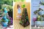 Φτιάξτε τα πιό απίθνα DIY σταντ για τις γλάστρες σας χρησιμοποιώντας παλιές ξύλινες σκάλες