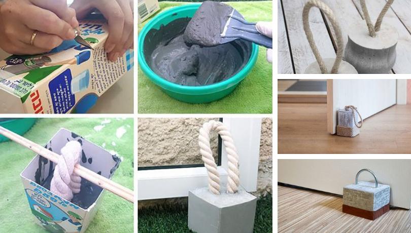 Πως να φτιάξετε τα πιο μοδάτα DIY στόπερ για πόρτες από τσιμέντο