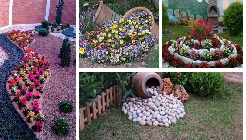 Ανοιξιάτικες ρυθμίσεις που διαφοροποιούν  φανταστικά το χρώμα και τη διακόσμηση στον κήπο