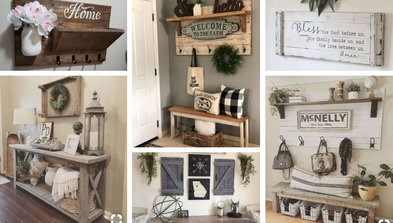 40+ Φανταστικές DIY ιδέες ρουστίκ διακόσμησης για το σπίτι σας