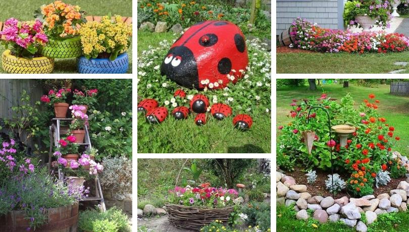 Μαγικές DIY Ανοιξιάτικες συνθέσεις πολύχρωμων λουλουδιών που δίνουν στον κήπο μια ιδιαίτερη γοητεία