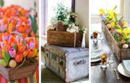 25 DIY ιδέες για το πώς να διακοσμήσετε το σπίτι σας για την άνοιξη με υπέροχες συνθέσεις λουλουδιών ρυθμίσεις