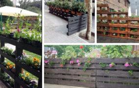 Οι πιο δημιουργικές DIY ιδέες με φράχτες κήπου από παλέτες