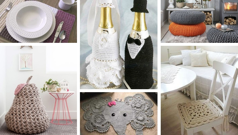 Χαριτωμένες DIY ιδέες πλεκτής διακόσμησης που θα κάνουν το σπίτι σας πιο όμορφο