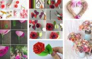 Πως να κάνετε τα πιο υπέροχα DIY τριαντάφυλλα από χαρτί τόσο όμορφα όσο τα αληθινά - 30+ καταπληκτικές ιδέες