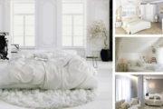 Υπνοδωμάτια ντυμένα στα λευκά: σχεδιασμός για απόλυτη χαλάρωση