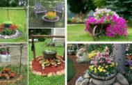 Δημιουργικές DIY ιδέες για πρωτότυπες διακοσμήσεις στο κήπο