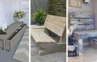 Απίθανα και κομψά DIY ξύλινα παγκάκια γεμάτα δημιουργικότητα
