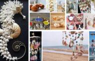 Χειροποίητη θαλασσινή διακόσμηση: Τι μπορείτε να κάνετε με κοχύλια - 45+ εκπληκτικές DIY ιδέες για το σπίτι