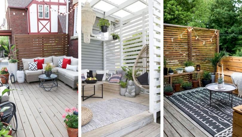 41 Υπέροχες ιδέες έμπνευσης με deck εξωτερικού χώρου