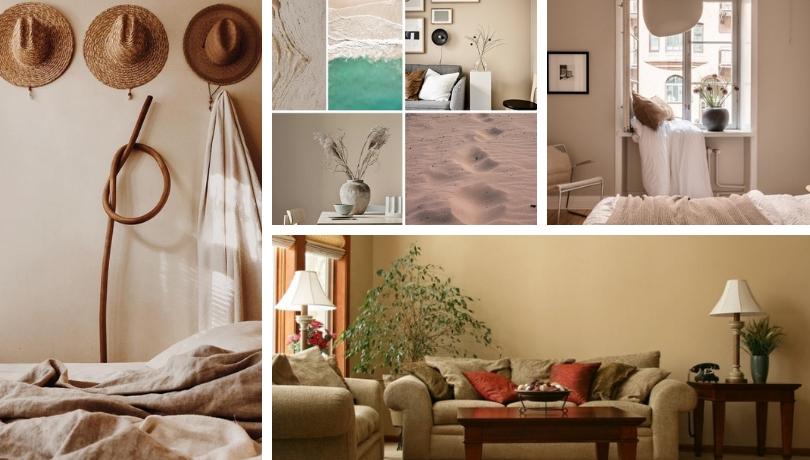 Δώστε μια χαλαρωτική αύρα στο ντεκόρ του σπιτιού σας με το χρώμα της άμμου