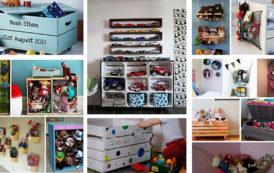 Αποθήκευση παιχνιδιών: οι καλύτερες 50 DIY ιδέες για την τακτοποίηση του παιδικού δωματίου