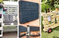 Πρωτότυπες DIY ιδέες με παλέτες για τους εξωτερικούς σας χώρους
