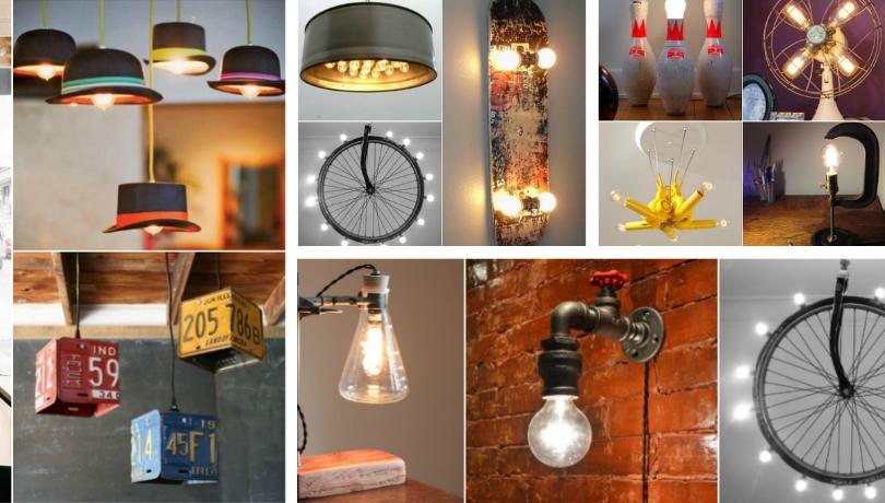 Ξεχωριστές DIY ιδέες για ασυνήθιστα φωτιστικά | Τεχνοτροπίες