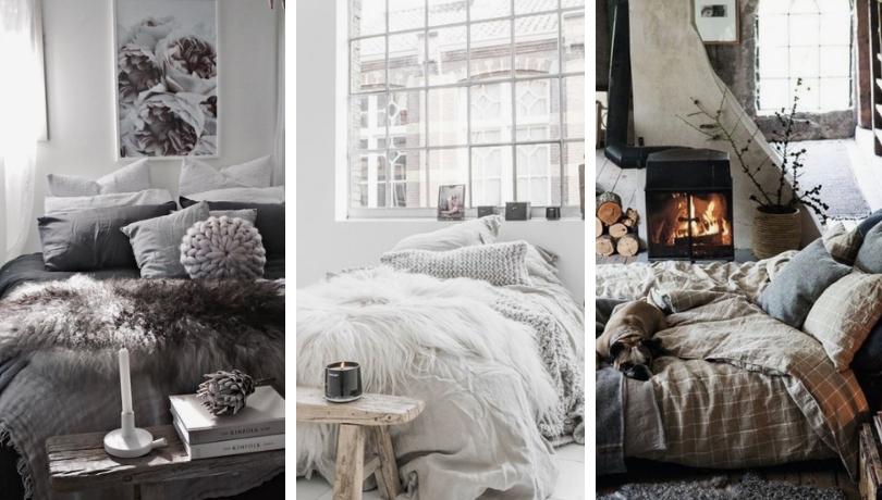 Οι 38 πιο Cozy ιδέες για ντεκόρ ενός χειμωνιάτικου υπνοδωματίου