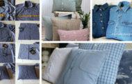 Μετατρέψτε τα παλιά σας πουκάμισα σε καταπληκτικά DIY μαξιλάρια