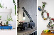Τα πιο αξιολάτρευτα DIY διακοσμητικά και έπιπλα από ανακύκλωση παλιών παιχνιδιών