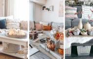 32 Απίθανες ιδέες φθινοπωρινής διακόσμησης για το τραπεζάκι καφέ του σαλονιού σας
