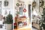 Οι πιο όμορφες Χριστουγεννιάτικες ιδέες για μια ευπρόσδεκτη είσοδο σπιτιού