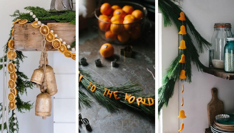 Οι πιο Cool DIY ιδέες Χριστουγεννιάτικης διακόσμησης με φλούδες εσπεριδοειδών και ένα θαυμάσιο πορτοκαλί άρωμα