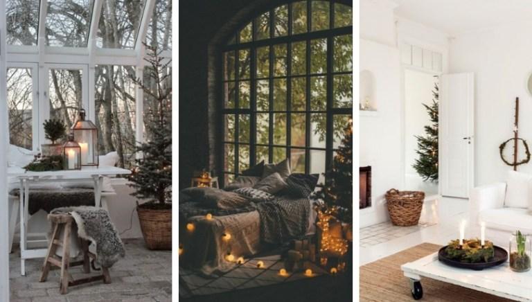 Πώς να δώσετε ένα πραγματικό hygge συναίσθημα κατά τη διάρκεια των Χριστουγέννων στο σπίτι σας