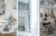 White Christmas Decor: 48 υπέροχες ιδέες για λευκά Χριστούγεννα στο σπίτι