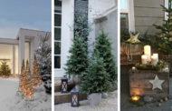 40 Υπέροχες ρουστίκ ιδέες Χριστουγεννιάτικης διακόσμησης για αυλή και τον κήπο σας
