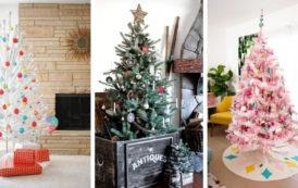 Πανέμορφες DIY ιδέες για vintage Χριστουγεννιάτικα δέντρα