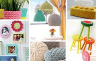 Υπέροχες DIY ιδέες πλεκτής διακόσμησης που θα απογειώσουν το σπίτι σας