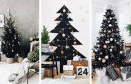 Το μαύρο είναι το νέο εορταστικό χρώμα: Μαύρα Χριστουγεννιάτικα δέντρα που κλέβουν την παράσταση - θα το τολμούσατε;
