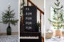 40 Μινιμαλιστικές ιδέες Χριστουγεννιάτικης διακόσμησης που θα σας μαγέψουν με την απλότητα τους